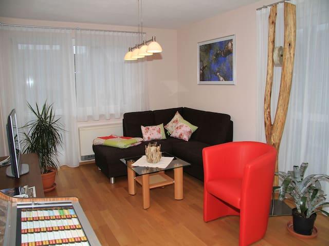 Ferienwohnung zum Torfstecher, (Wilhelmsdorf-Pfrungen), Ferienwohnung mit 70qm, 2 Schlafzimmer für max. 4 Personen