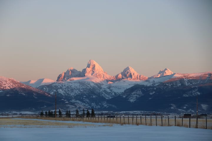 The Magic of the Teton Valley, View of Grand Teton