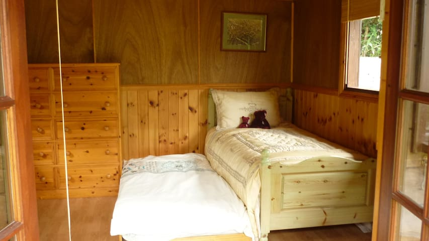 Inside with pull-out bed