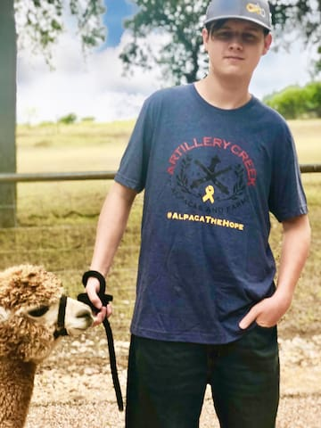 #alpacathehope! Raising awareness and support for families affected by pediatric cancer!