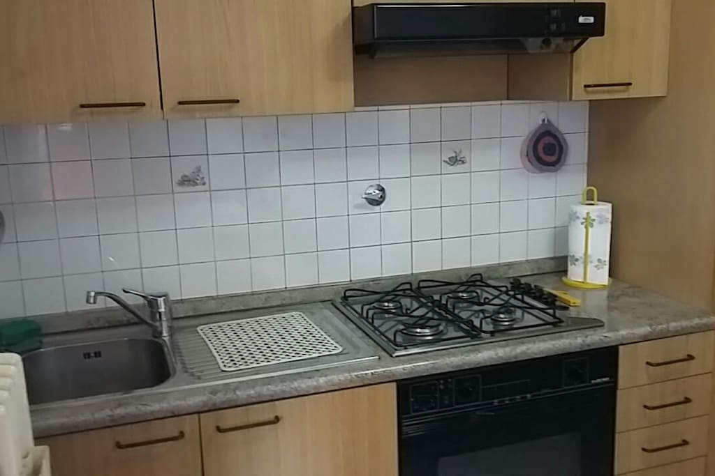 Cucina-frigo-forno