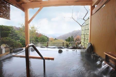 Japanese style room Tatami. Futon On the Tatami