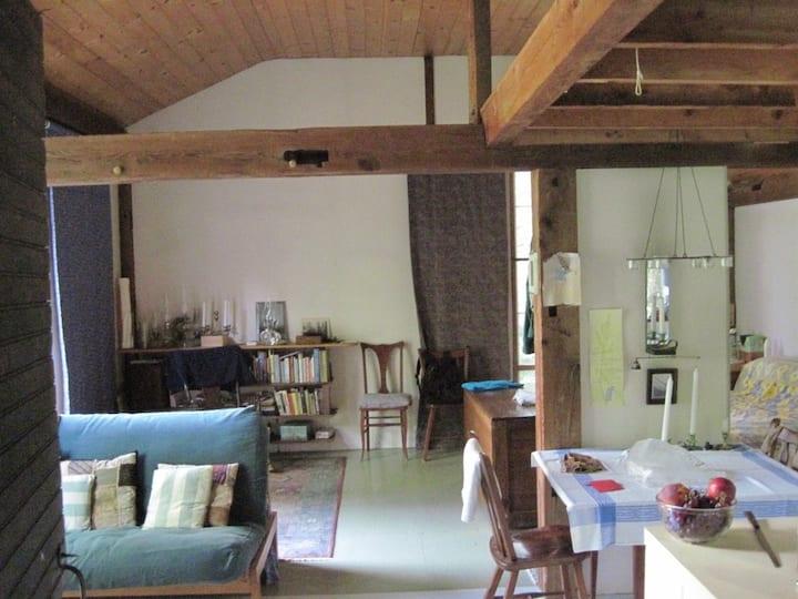 Simple unique cabin - quiet, private, lovely