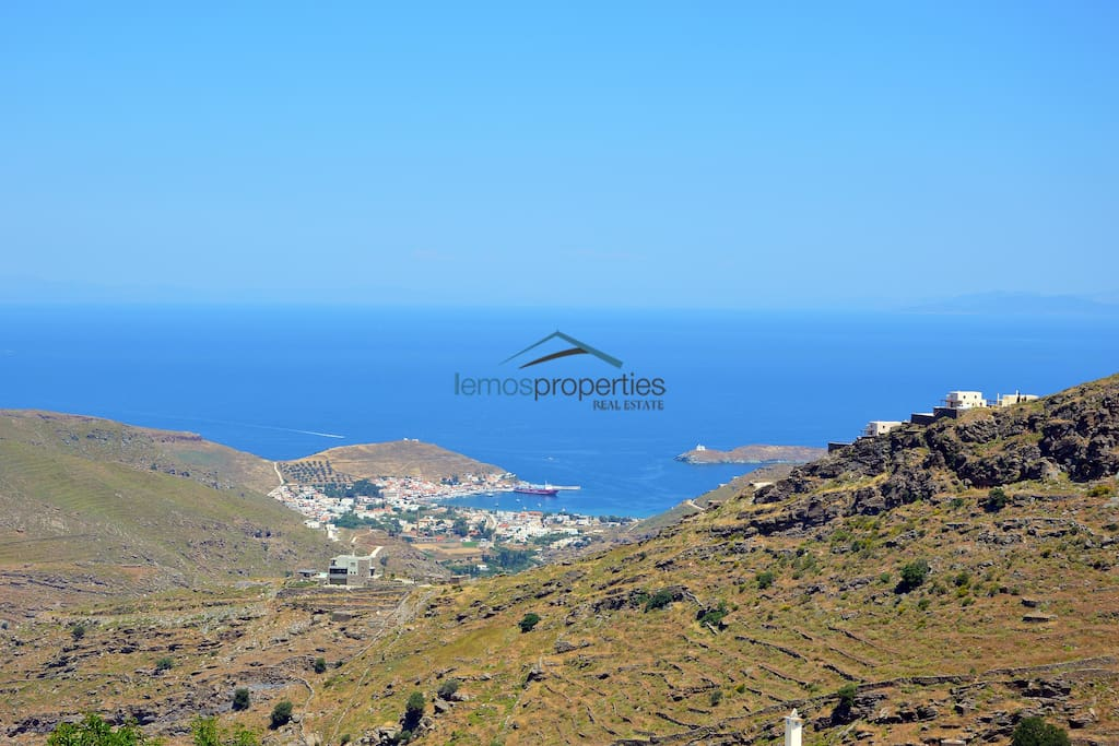 A view from the house of the Harbor of Kea