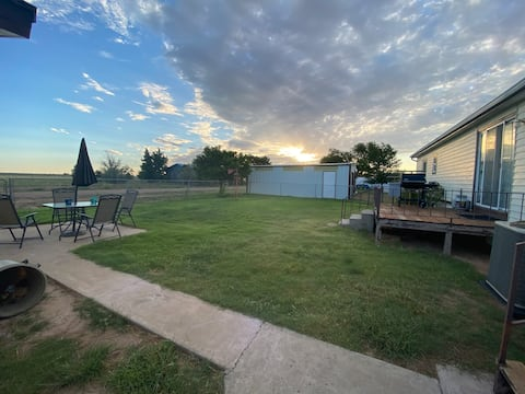 3 BR 2 BA w/BBQ, Patio, Enclosed Porch at Ute Lake