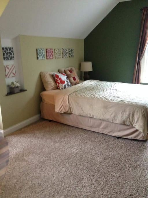 Comfortable king size sleep number bed