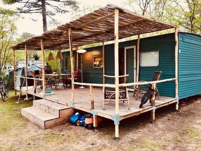 Comfortable Caravan on Camping Bakkum