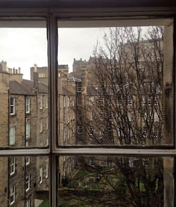 Spacious Room in Edinburgh city centre. - 爱丁堡 - 公寓