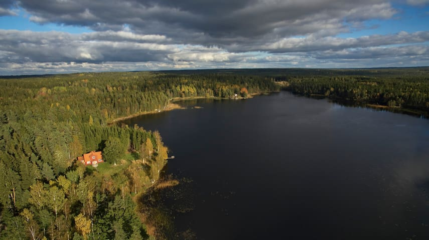 Swedish dream house by the lake - Lekeryd - Ev
