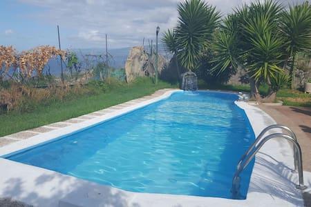 Casa con piscina, barbacoa y vistas - San Juan de la Rambla