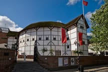 Short walk to Shakespeare's Globe
