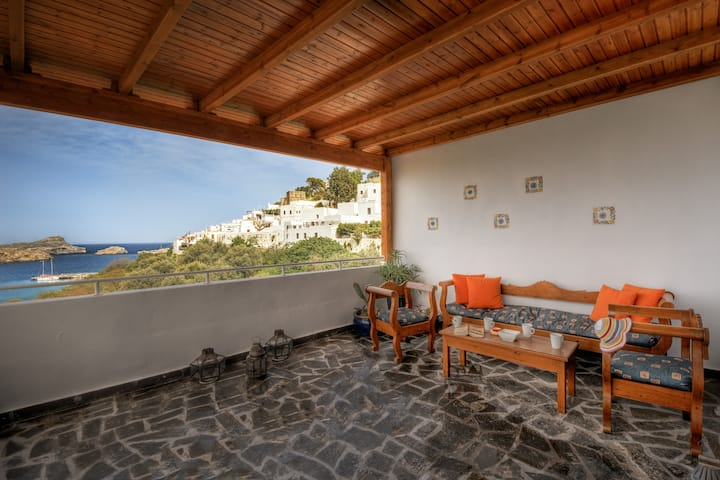Greek Retreat in the Heart of Unique Lindos