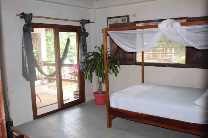 Deluxe Double private room with balcony and a/c
