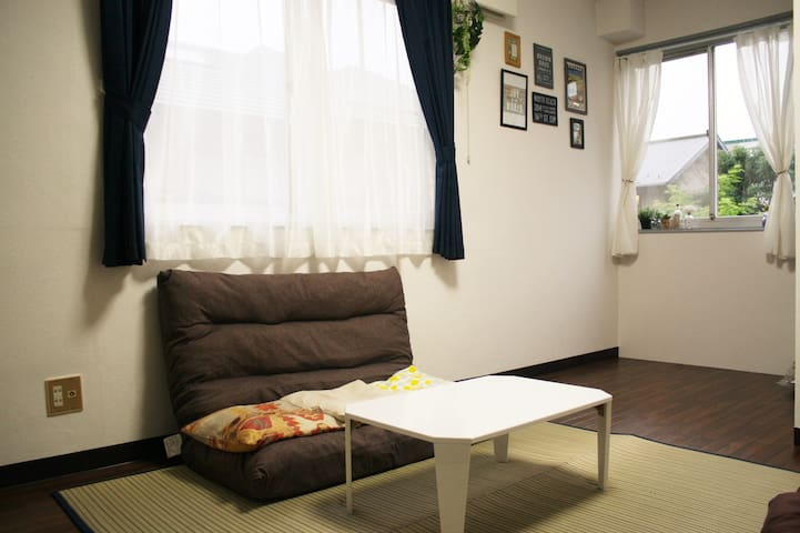 LOVELY ROOM mobile Wi-Fi/3 min from the station - Matsudo - Byt