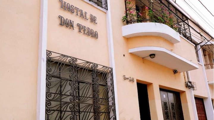 HOTEL DE DON PEDRO, HABITACIONES TRIPLES Y DOBLES