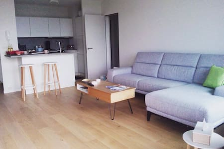 Charming new App 50m from the Beach - Oostende - Apartment