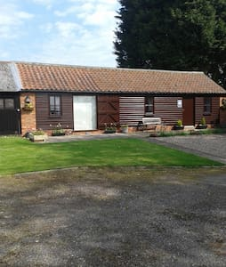 Peaceful converted former stable near Spilsby