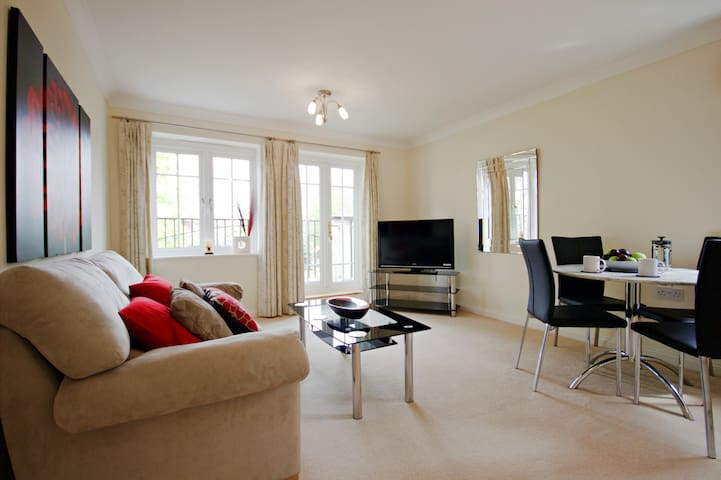 WH Fully Serviced Apartment, Free Wi-Fi, SKY - Basingstoke - Apartment