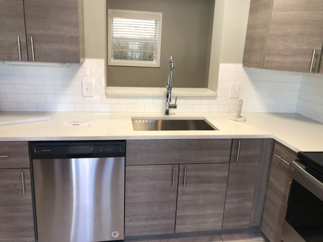 New fresh kitchen Gray