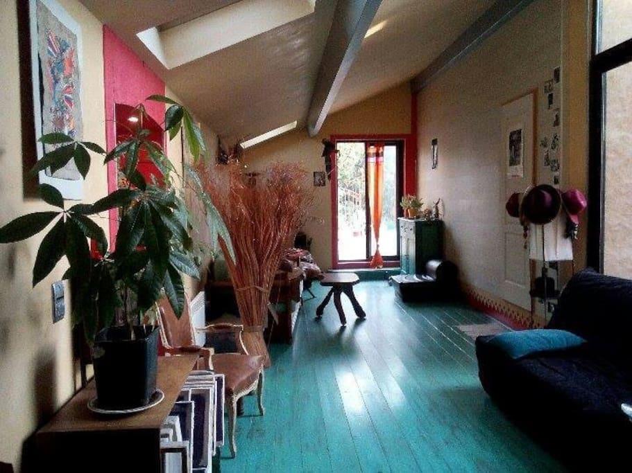 Chambre dans colocation maison aux minimes maisons de for Location garage toulouse minimes