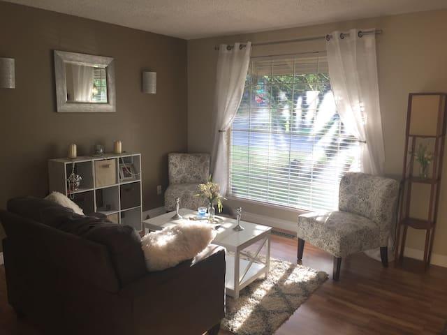 Private room near the river