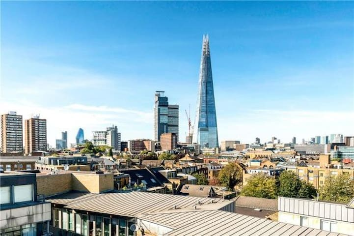 Top floor penthouse with amazing views of London