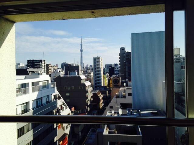 Akihabara & Ueno 5 minutes.