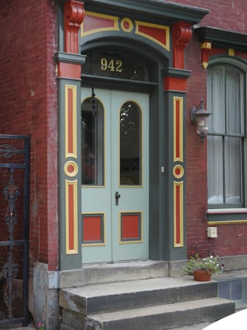 Allegheny West Brownstone