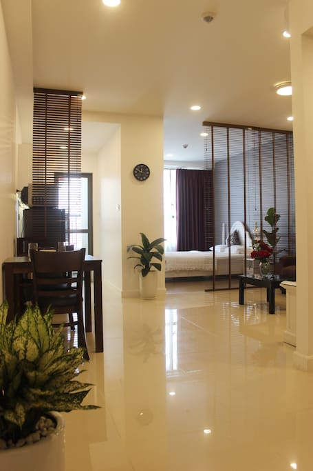 A newly renovated apartment