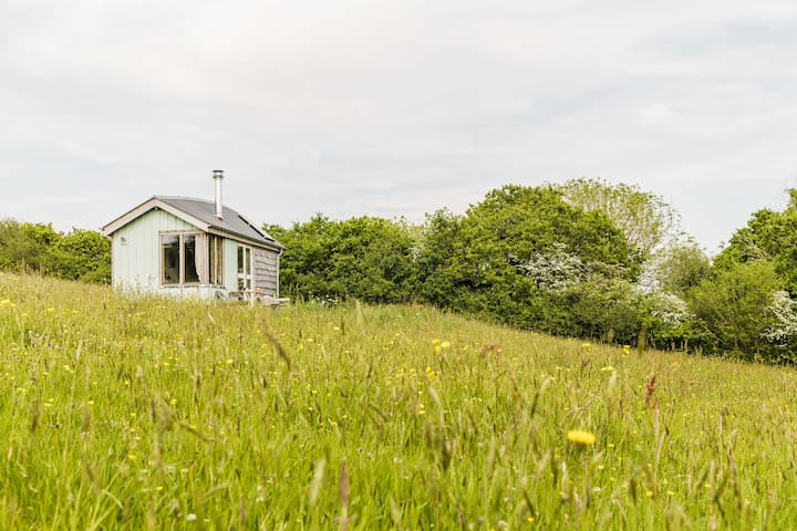 Wildflower Cabin ~ a soulful eco-stay near Totnes