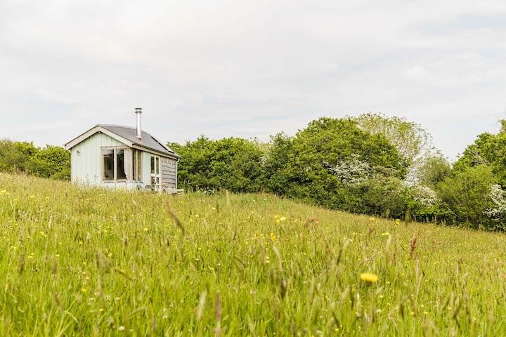 Wildflower Cabin ~ a soulful eco-stay near Totnes