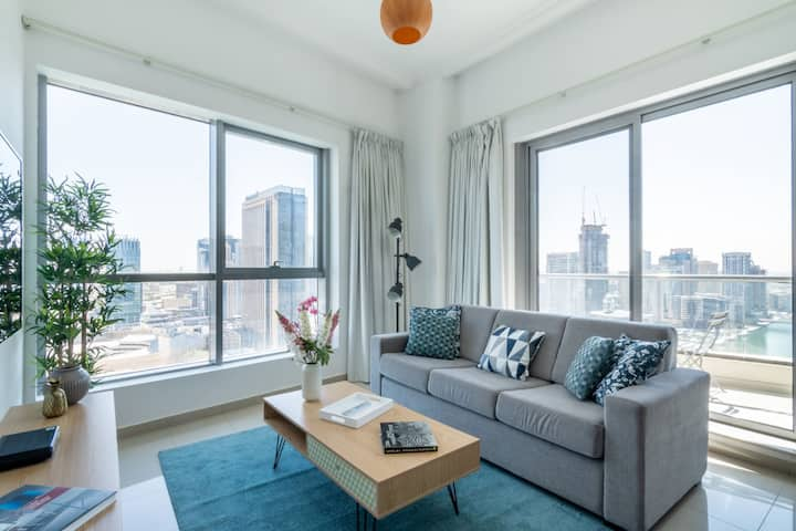 1BR Apt in Dubai Marina with Stunning views