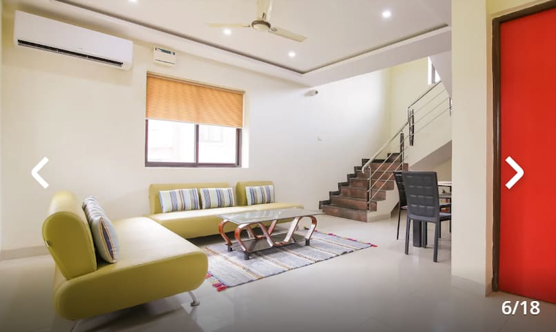 Modern Contemporary Goan Villa, 3BHK with Garden!!