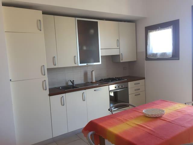 Appartamento con vista a Suvereto