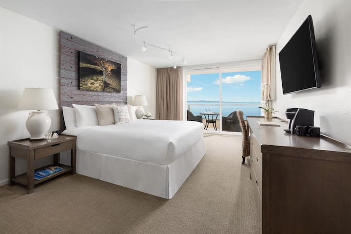 Amazing Oceanfront One King Bed w Spacious Balcony