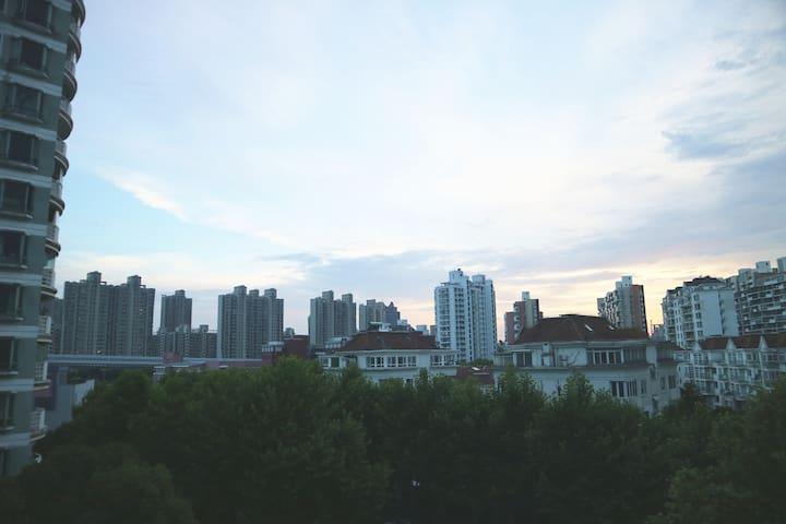 阳台看出去的景色1