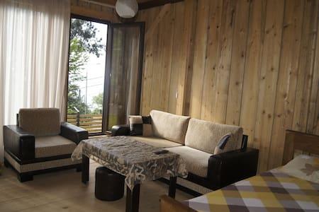 Деревянный коттедж около моря с полным комфортом - Kvariati - Haus