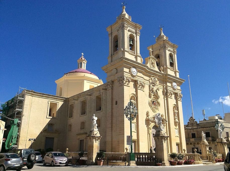 Church of Gharghur - one of the oldest in Malta