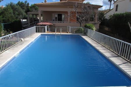 House for 6 people with private pool in Bahia Azul - Llucmajor