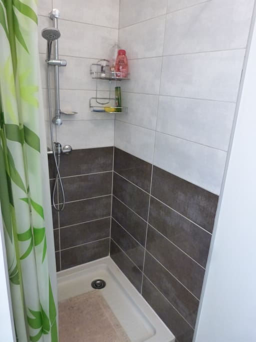 Salle de bain privative dans la chambre