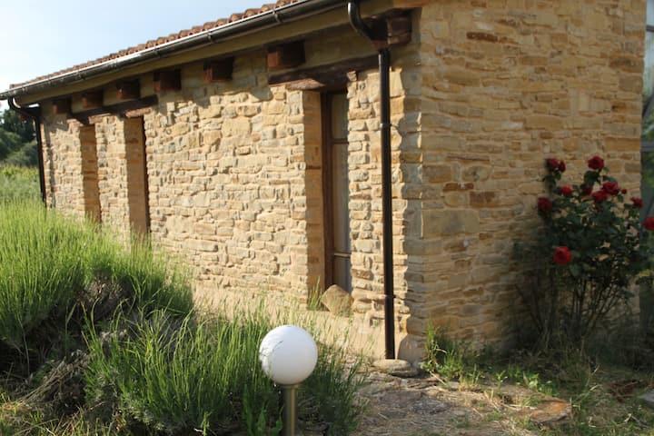 Kleines Studio in Alleinlage in der Nähe von Apiro