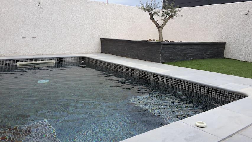 Maison piscine privée, proche Cap dAgde Marseillan - Saint-Thibéry - Haus