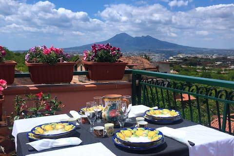 Amalfi Coast - Villa Di Martino 10 Min Da Pompei