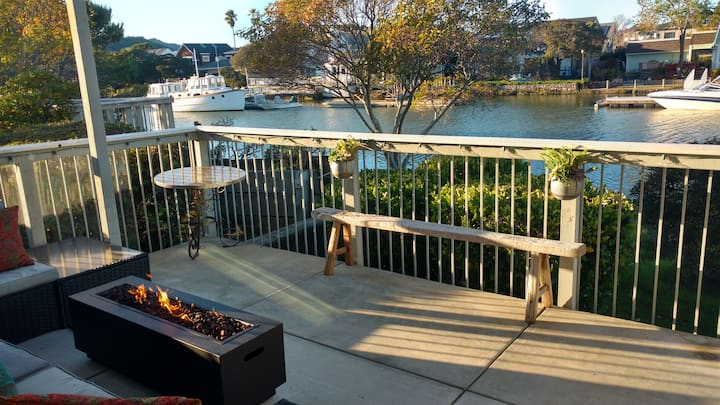 The best of locations on the water in Corte Madera