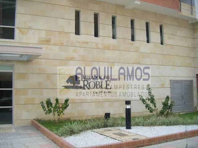 ALQUILAMOS  AMOBLADOS. 2AlcobasMiradordelRoble301 - Bucaramanga - Huoneisto