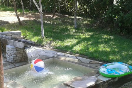 Recanto Bonsucesso - Chalé com 07 cachoeiras - Pirenópolis - Cottage
