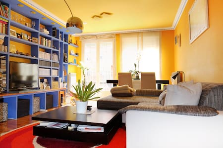 Habitación con balcón y cama de 1'5 - Nájera - 家庭式旅館