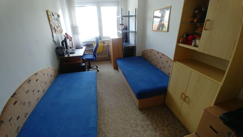 Private room near city center