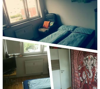 Cozy-Bright-Room (15 min to Center) - Appartement
