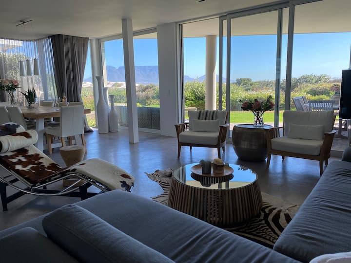 Dolphin Beach Villa. Stunning luxury beachfront.